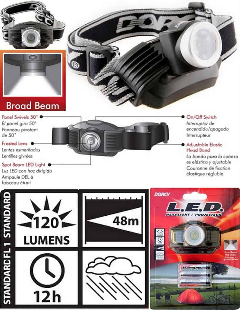 Dorcy 41-2096 Headlamp