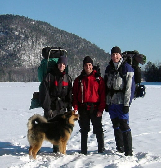 Winter Camping With Your Dog
