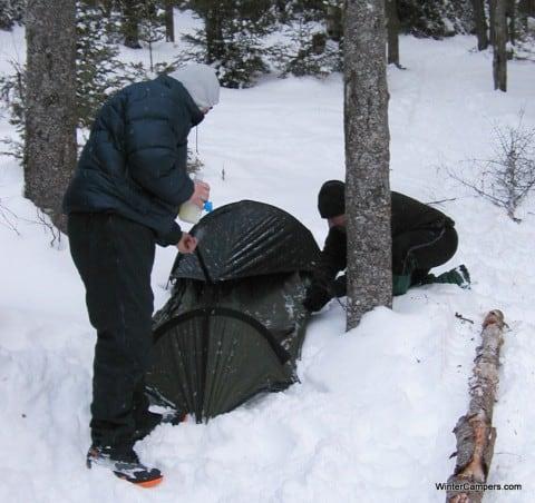 Winter Camping Bivy